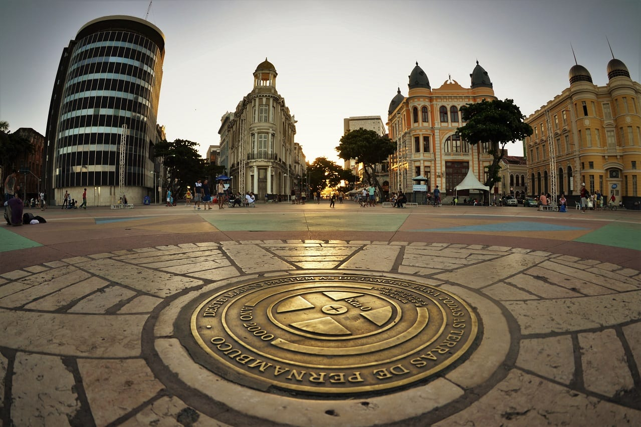 O que fazer em Recife: Conhecer o Marco Zero