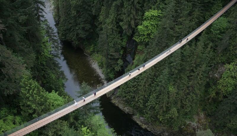 O Que Fazer em Vancouver no Canadá: Capilano Suspension Bridge