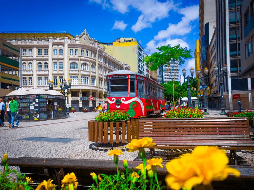 Passeios em Curitiba: Rua das Flores