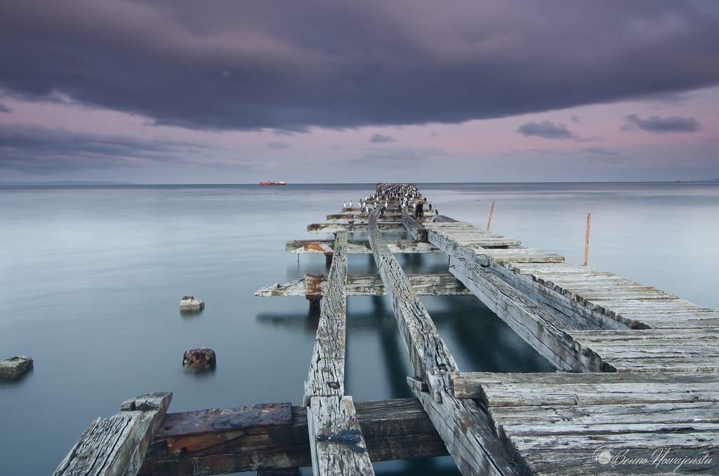 Muelle Loreto em Punta Arenas