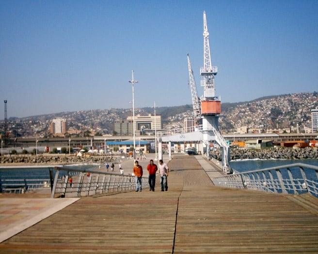 O Que Fazer Em Valparaíso: Contemplar Muelle Baron em Valparaíso