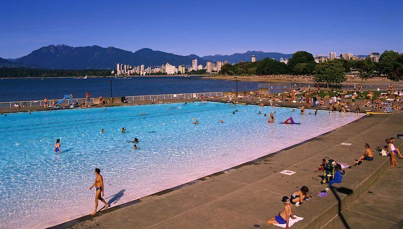 O Que Fazer em Vancouver no Canadá: Kitsilano Beach