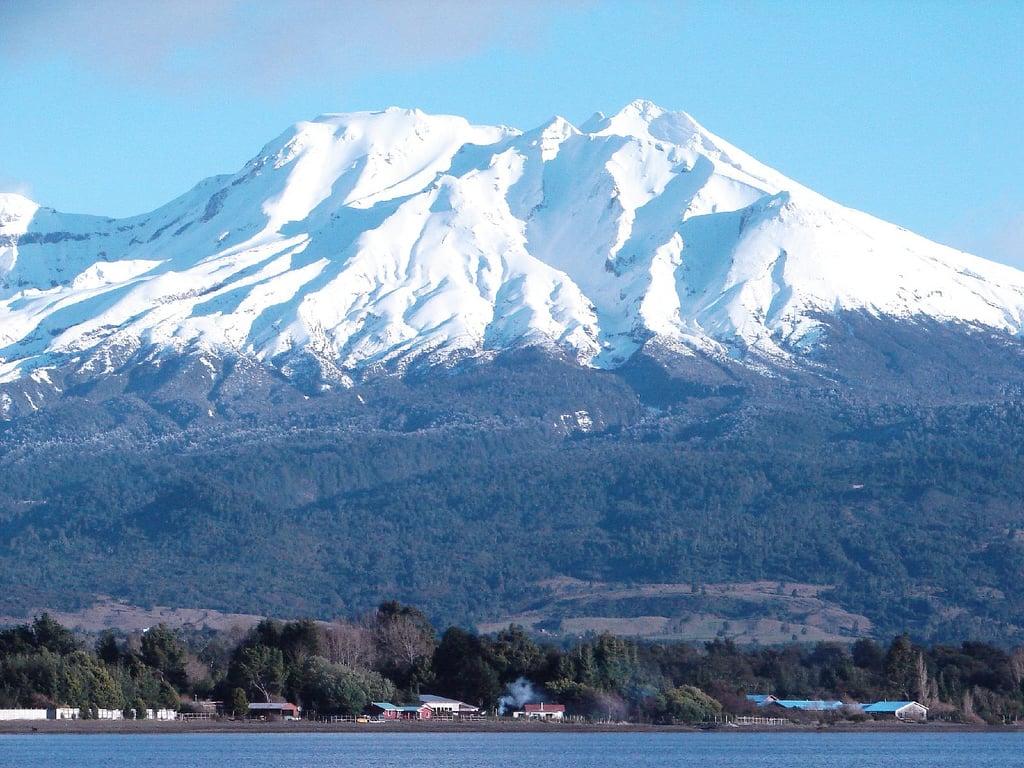 Subir e conhecer os vulcões Osorno, Calbuco e Tronador em Puerto Varas