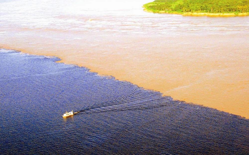 O que fazer em Manaus: Rio Negro e Solimões
