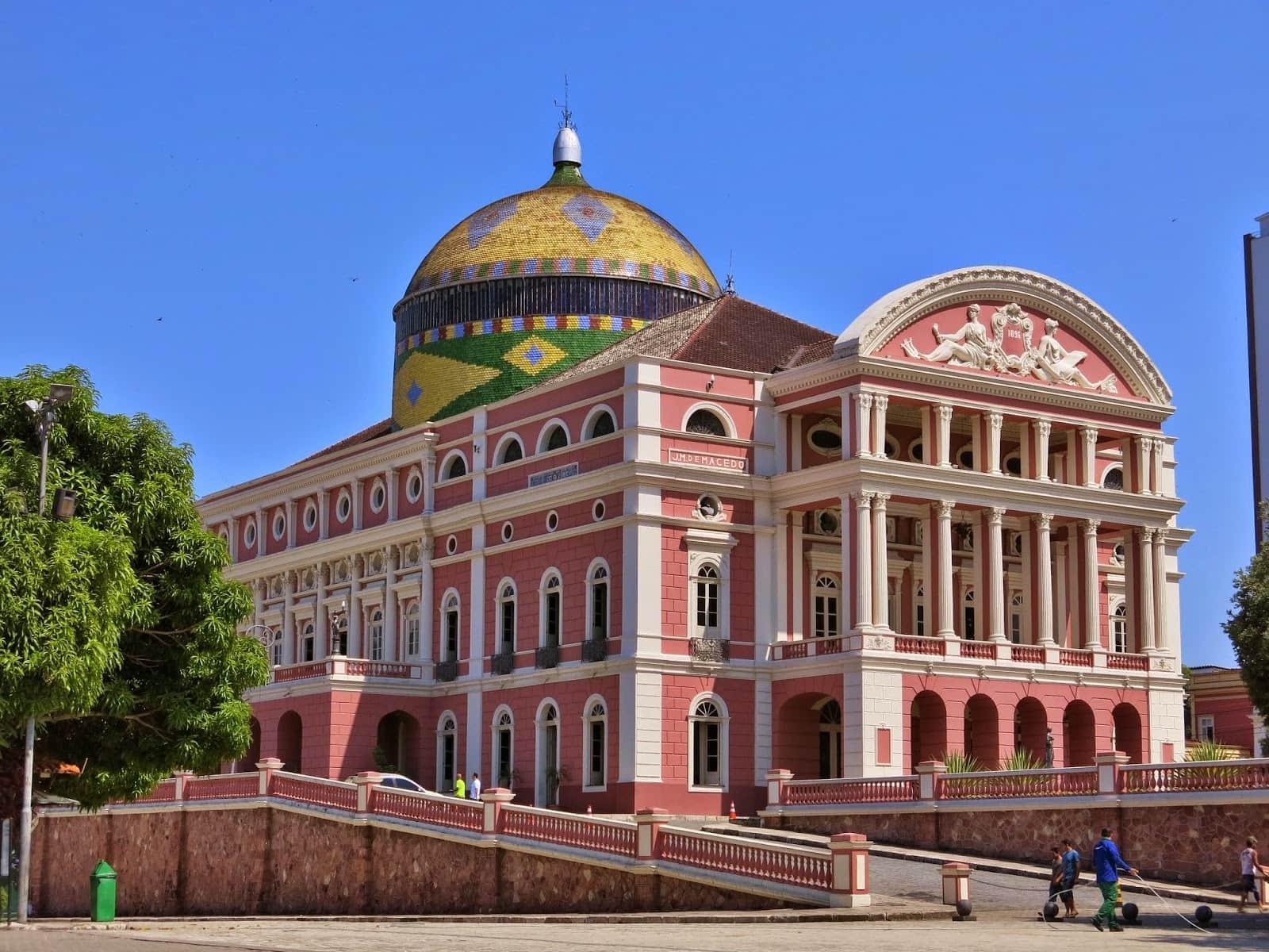 O que fazer em Manaus: Teatro Amazonas
