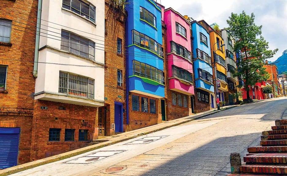 O Que Fazer Em Bogotá: Conhecer o bairro La Macarena em Bogotá