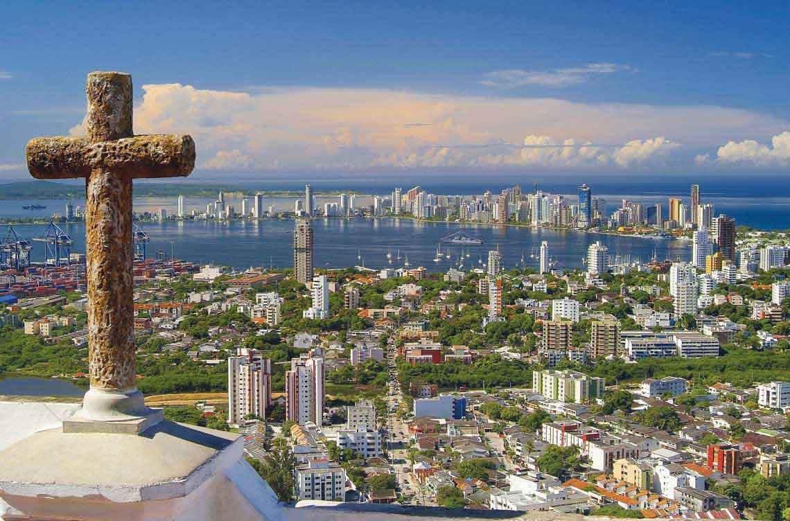 O Que Fazer Em Cartagena das Índias: Passear pelo Convento de La Popa em Cartagena das Índias