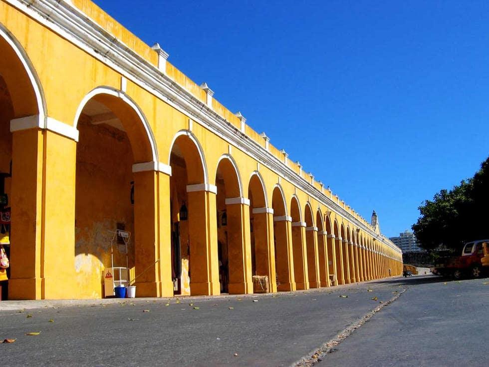 O Que Fazer Em Cartagena das Índias: Conhecer Las Bóvedas em Cartagena das Índias