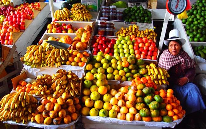 O Que Fazer Em Cusco: Comer no Mercado Central de Cusco
