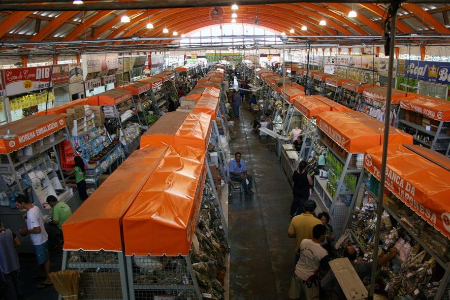O que fazer em Campo Grande: Mercado Municipal