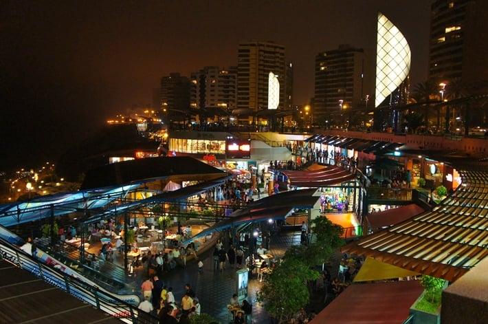 O que fazer à noite em Lima