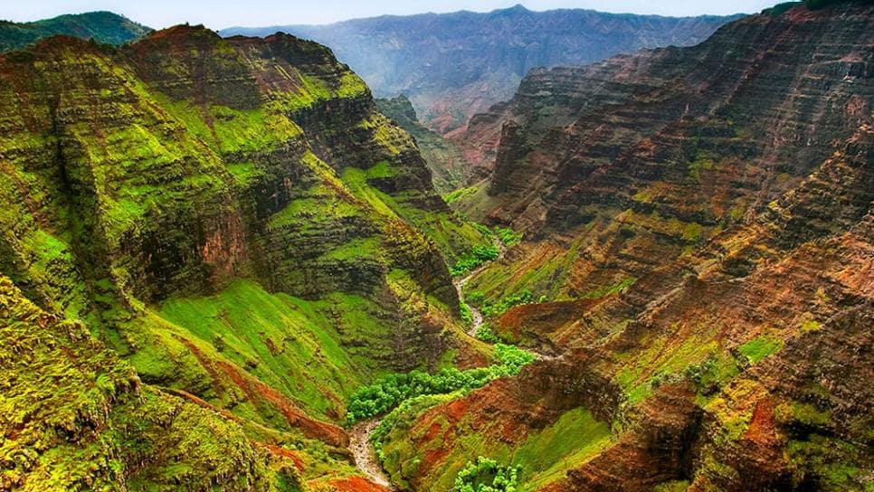 O Que Fazer Em Kauai no Havaí: waimea canyon