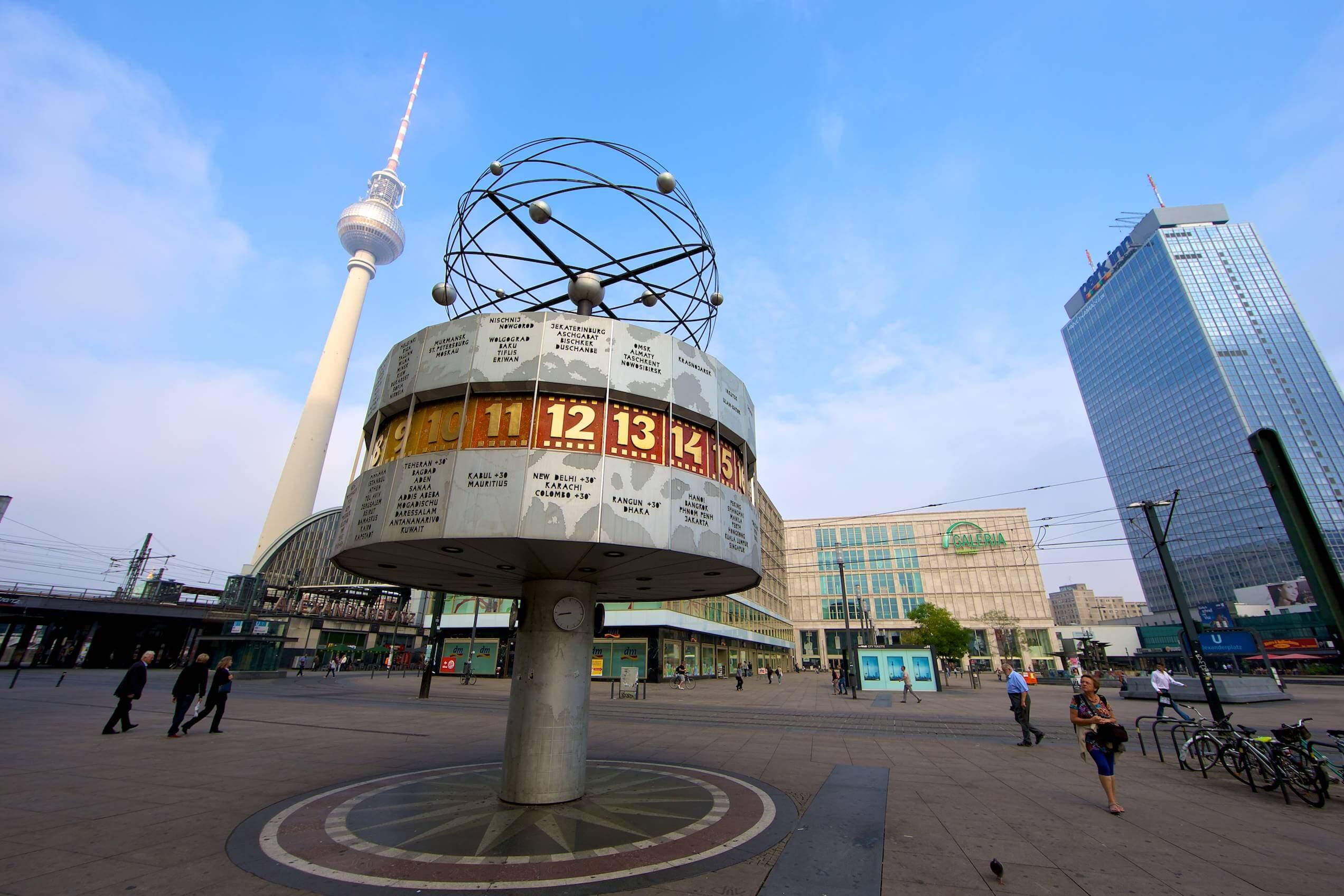 O que fazer em Berlim: Praça Alexanderplatz