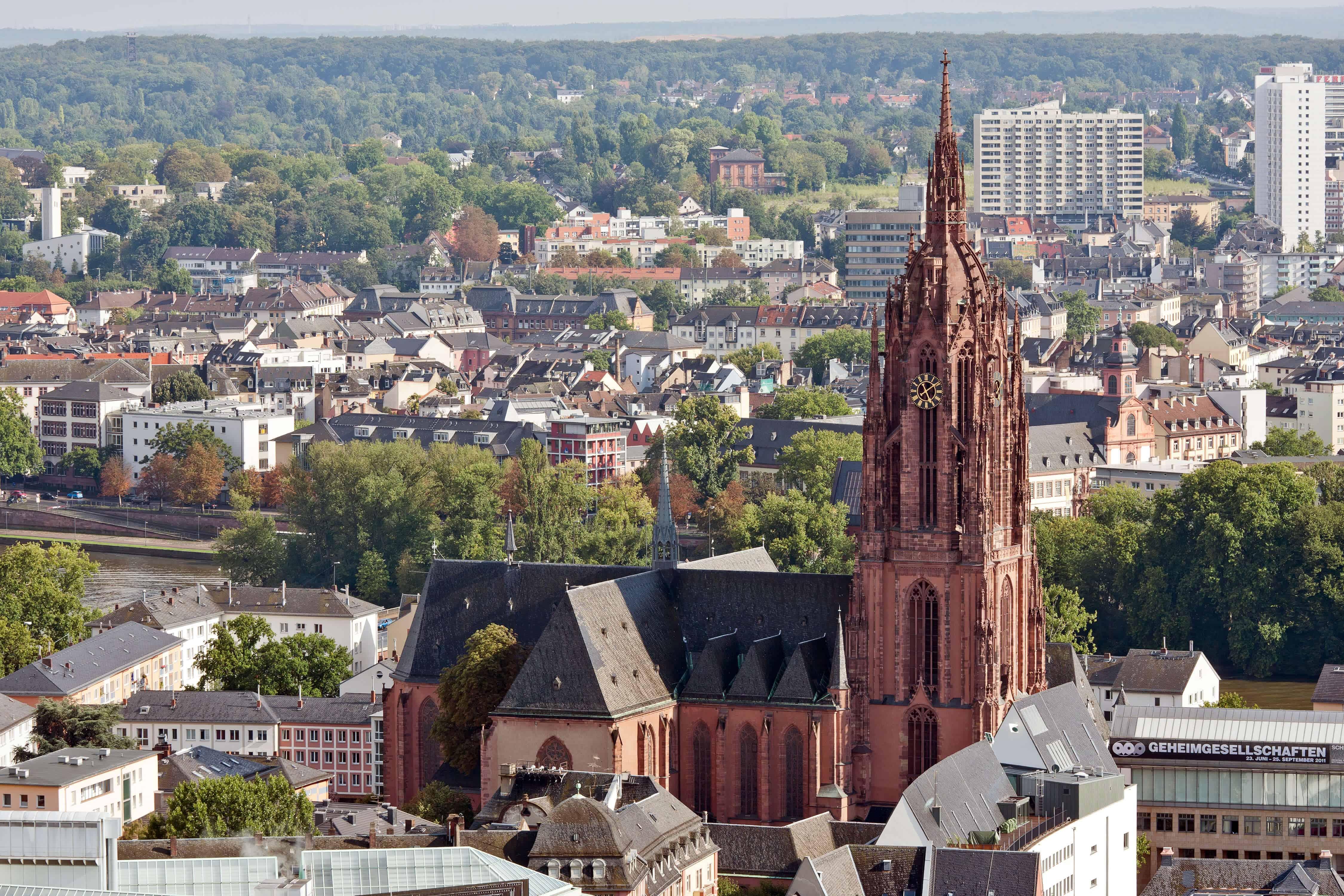 O que fazer em Frankfurt: Catedral de Frankfurt