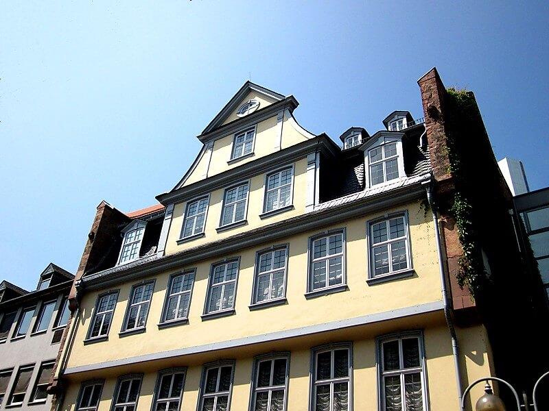 O que fazer em Frankfurt: Museu Goethe House