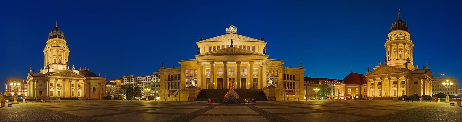 O que fazer em Berlim: Praça Gendarmenmarkt