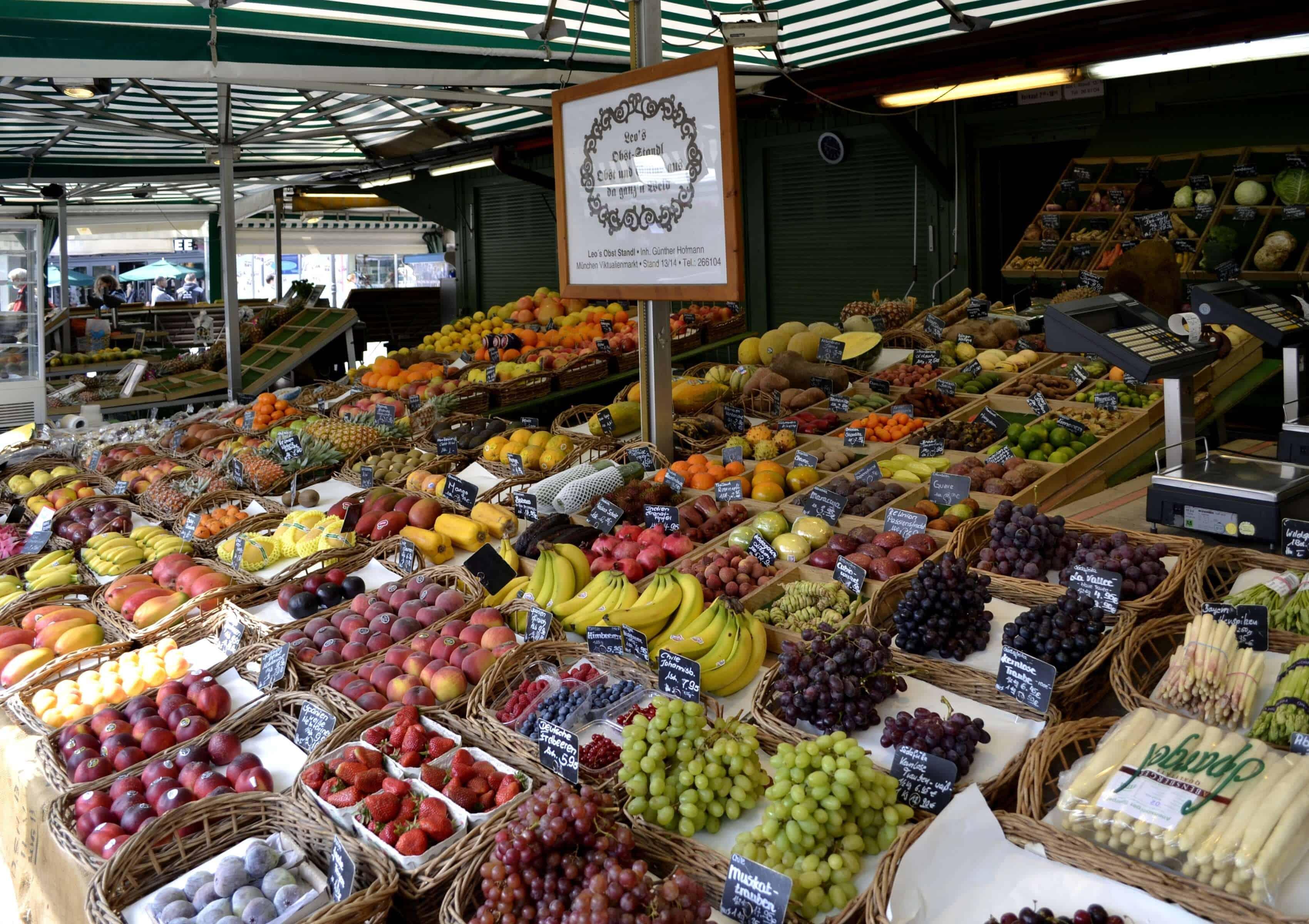 O que fazer em Munique: Viktualienmarkt