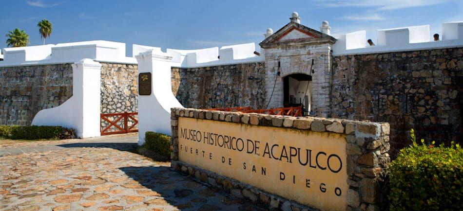 O Que Fazer em Acapulco no México: Forte San Diego