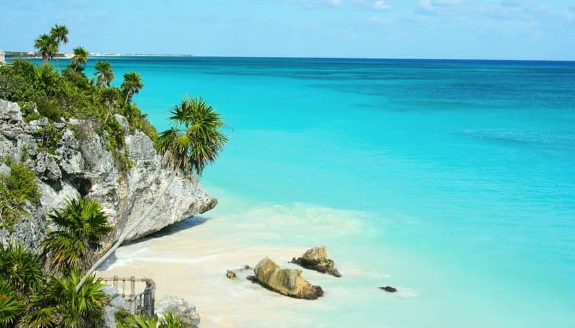 O Que Fazer em Riviera Maya no México: praias