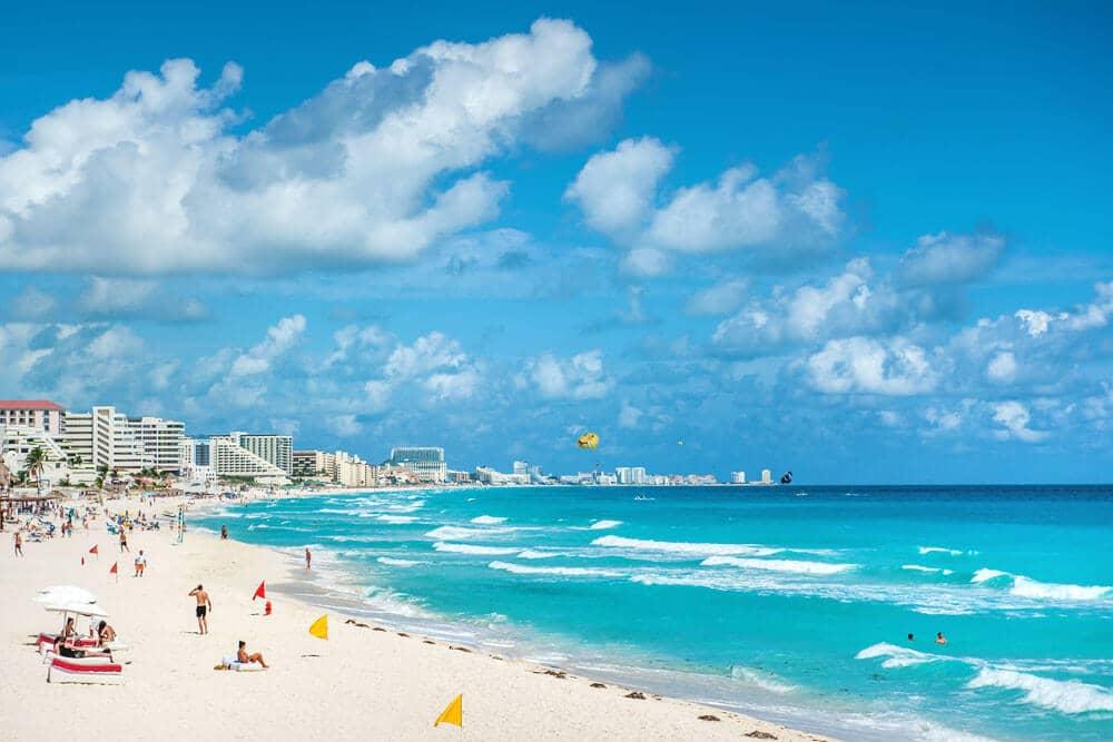 O Que Fazer em Cancún no México: praias