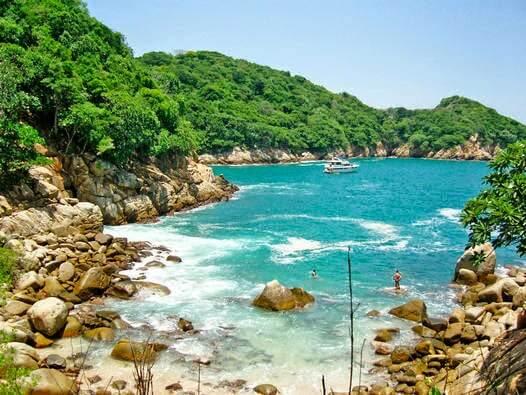 O Que Fazer em Acapulco no México: Roqueta
