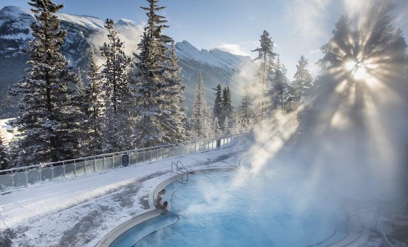 O Que Fazer em Calgary no Canadá: Balneário de Upper Hot Springs