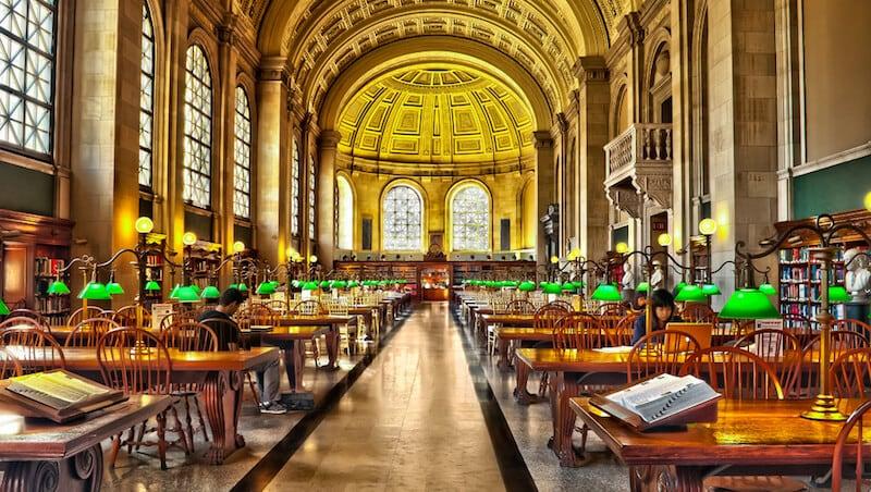 O Que Fazer em Boston em Nova York: Biblioteca pública de Boston