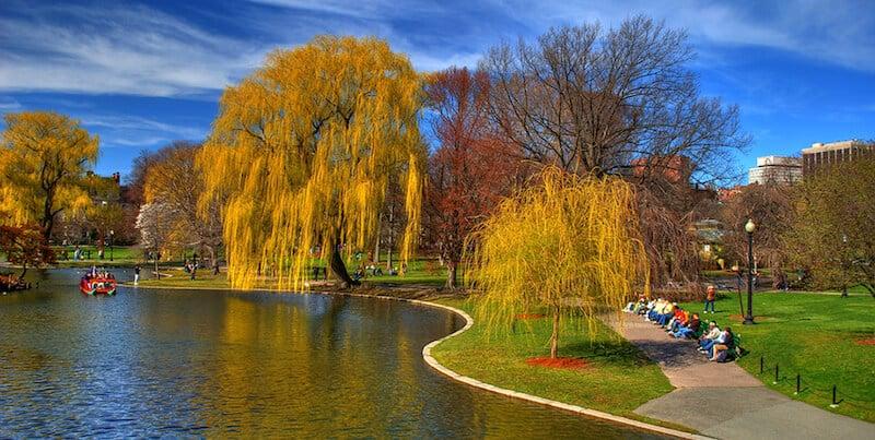 O Que Fazer em Boston em Nova York: Boston Common