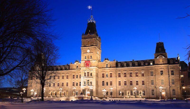 O Que Fazer em Québec no Canadá: Hôtel du Parlement