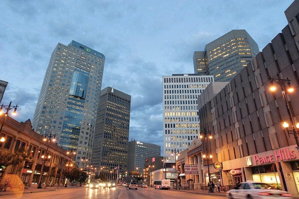 O Que Fazer em Winnipeg no Canadá: Downtown