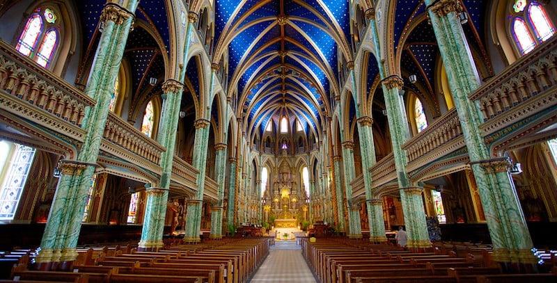 O Que Fazer em Ottawa no Canadá: Notre-Dame Cathedral