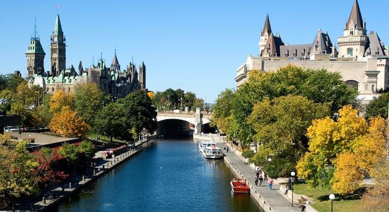 O Que Fazer em Ottawa no Canadá: Canal Rideau