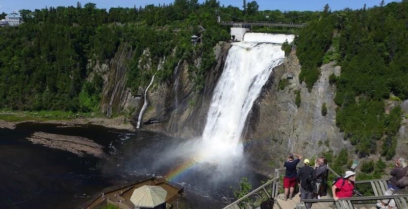 O Que Fazer em Québec no Canadá: Cataratas de Montmorency