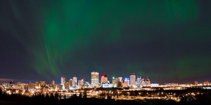 O Que Fazer em Edmonton: Aurora Boreal em Edmonton