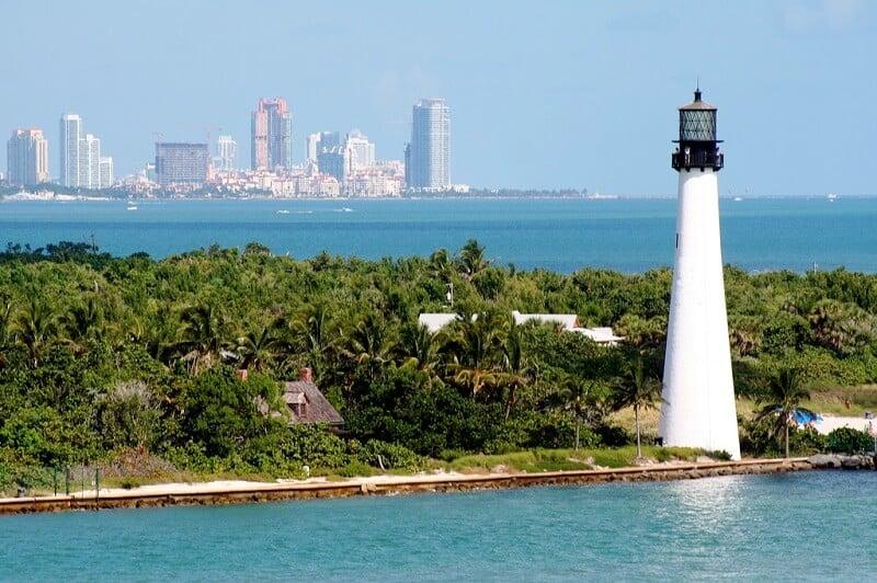 O que fazer em Miami: Key Biscayne