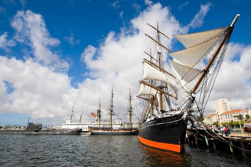 O que fazer em San Diego: Museu Marítimo de San Diego