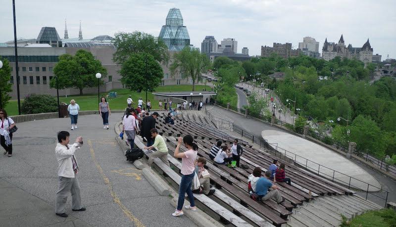 O Que Fazer em Ottawa no Canadá: Nepean Point