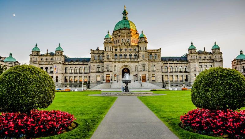 O Que Fazer em Victoria no Canadá: British Columbia Parliament Buildings