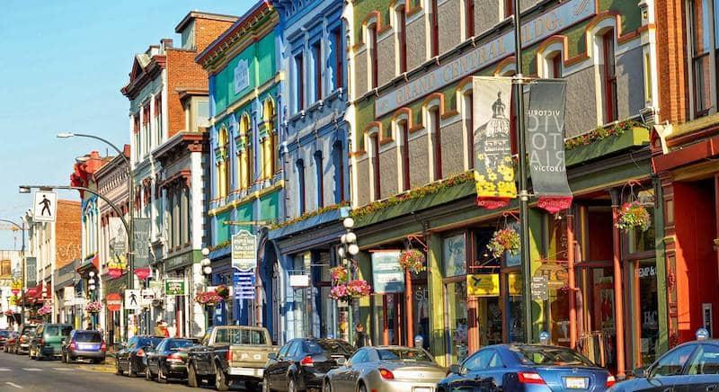 O Que Fazer em Victoria no Canadá: Historic Downtown