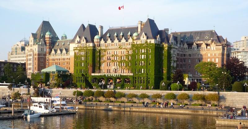 O Que Fazer em Victoria no Canadá: Hotel Empress