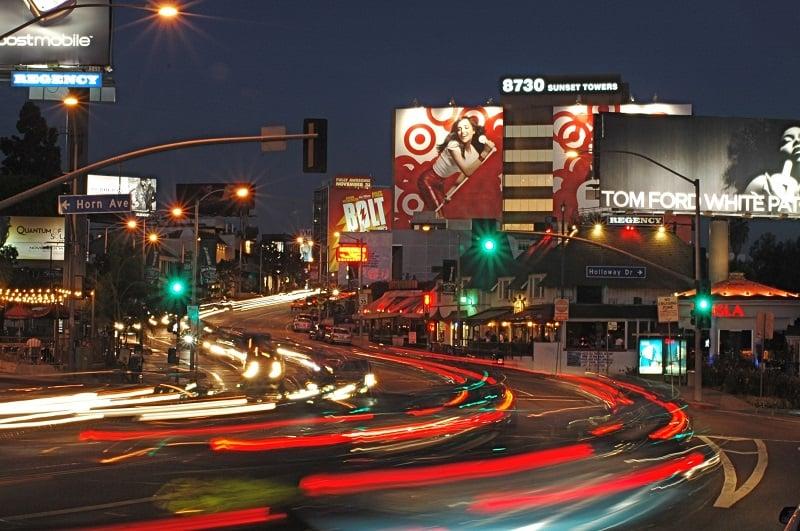 O que fazer em Los Angeles: Sunset Boulevard