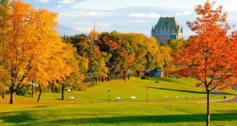 O Que Fazer em Québec no Canadá: Plaines d'Abraham