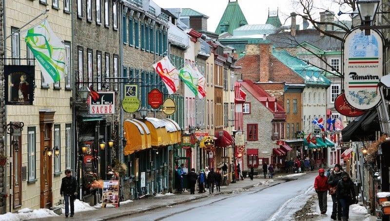 O Que Fazer em Québec no Canadá: Rue St-Jean