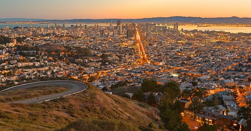 O que fazer em San Francisco: Twin Peaks