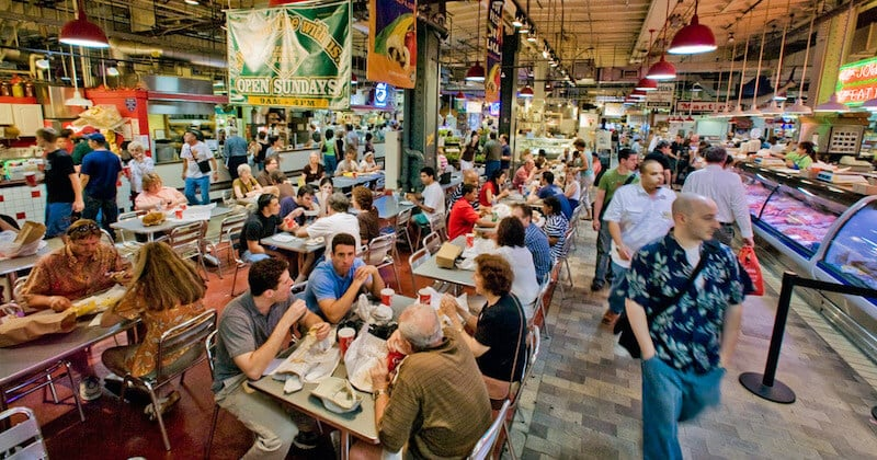 O Que Fazer na Filadélfia em Nova York: Reading Terminal Market