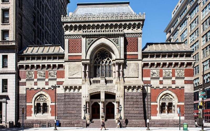 O Que Fazer na Filadélfia em Nova York: Pennsylvania Academy of Fine Arts (Academia das Belas Artes da Pensilvânia)
