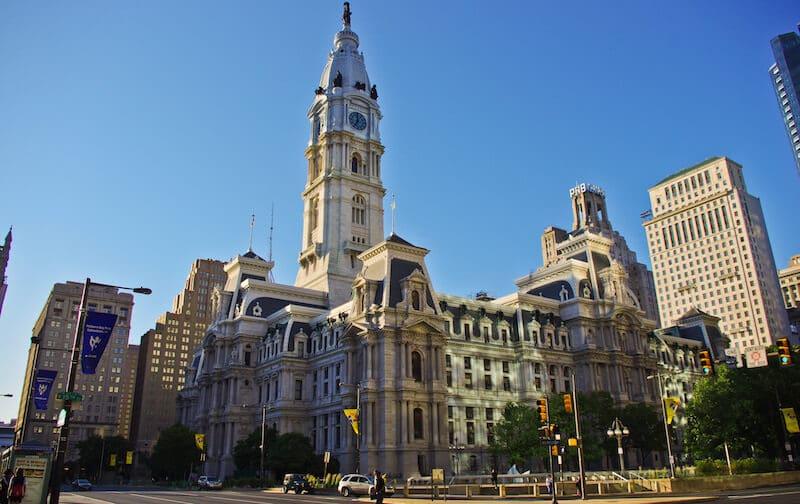 O Que Fazer na Filadélfia em Nova York: Philadelphia City Hall