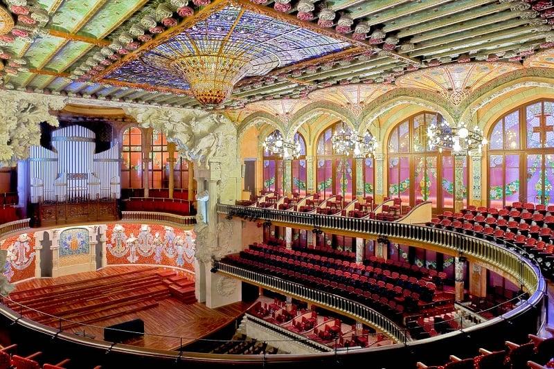 O que fazer em Barcelona: Palau de la Musica Catalana