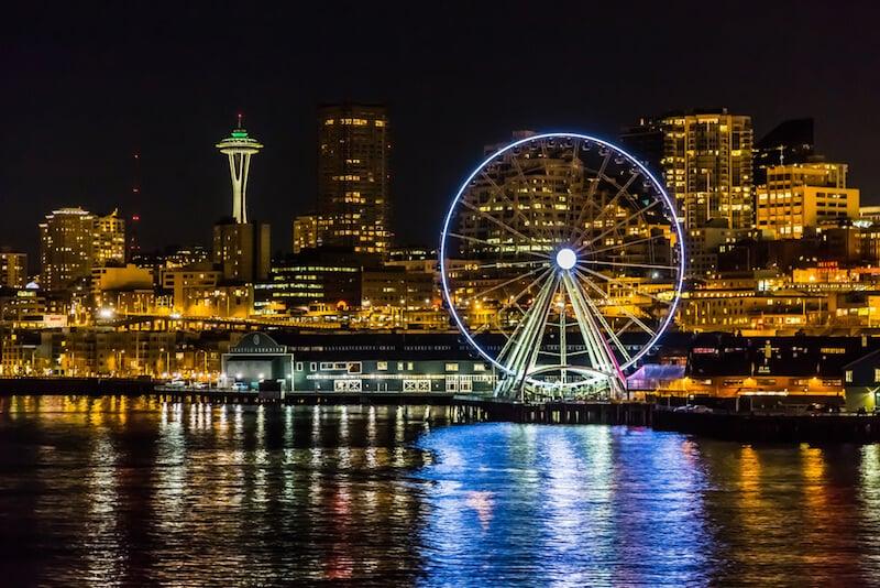 O Que Fazer em Seattle em Nova York: Seattle Great Wheel