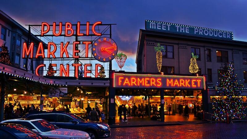 O Que Fazer em Seattle em Nova York: Pike Place Market